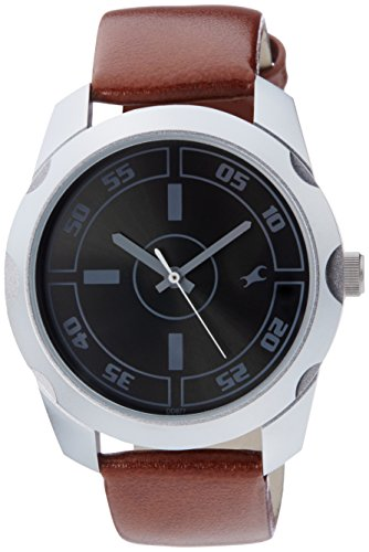 Fastrack Casual Analog Black Dial Men's Watch -NK3123SL03