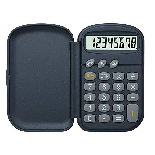 LJPzhp-Office Taschenrechner Student Science Function Calculator Test Zweizeilige Anzeige Statistische Variable Student Calculator Für Büro, Schule oder zu Hause