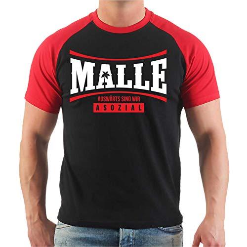 Männer und Herren T-Shirt Malle Wir müssen aufhören weniger zu Trinken Größe S - 8XL