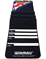 Dart mat protector para suelo winmau fibra suave