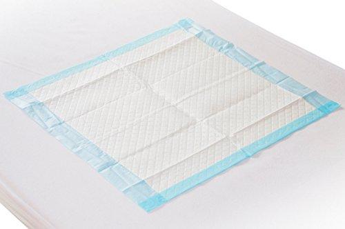 100 Krankenunterlagen Einmalunterlagen Farbe: blau 40 x 60 6 – lagig / Inkontinenzmatten für Hunde - 7