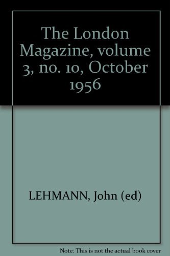 The London Magazine, volume 3, no. 10, October 1956