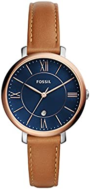 Fossil Women's Quartz Watch, Analog Display and Leather S