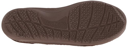 Hush Puppies Men's Crofton Method Slip-On Loafer, Brown Leather, 10 M US Brown Leather