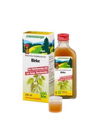 Schoenenberger Naturreiner Heilpflanzensaft Birke (1 x 200 ml)