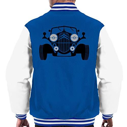 Citroën Vintage Traction Sketch Men's Varsity Jacket
