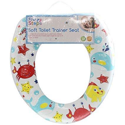 Childs toddler baby kid vasino morbido imbottito per wc universale adatto a qualsiasi sedile wc standard