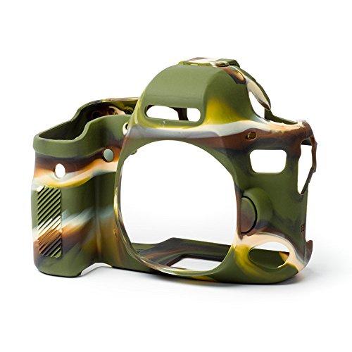 Easy Silikon Cover Case für Canon 6D Mark II mit LCD-Schützen Film (Camouflage) (Canon 6d Screen Protector)
