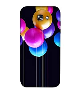 Samsung A520F A520F/DS A520K/L/S Samsung Galaxy A5 (2017) Duos, Samsung Galaxy A5 (2017) Back Cover, Samsung Galaxy A5 (2017) Back Case Colorful Bunch Of Birthday Balloons Flying For Party And Celebrations Design From Printvisa