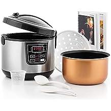 Chef Master Kitchen Smart Cooker Robot de Cocina y Accesorios, 11 programas de cocción,