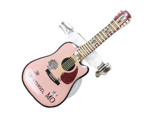 Blinki LED Anstecker Blinky Brosche LED Pin Button viele Motive, wählen:Gitarre 187