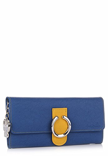 Butterflies Women's Wallet (Blue) (BNS 2222)  available at amazon for Rs.514