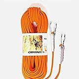 JohnJohnsen 9,5 mm Außen Climbing Sicherheitsseilkletterseil 10 Meter orange Flucht Seil Schwimmleine (orange)
