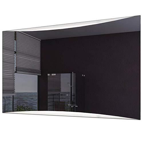 Schreiber Design® LED Badspiegel mit Beleuchtung Voyage 4000K Neutralweiß 80 cm Breit x 60 cm Hoch Licht Oben & unten -