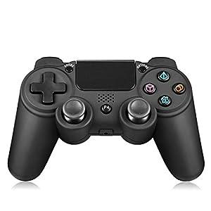 LUIBOR Controller für ps4, DualShock4 Kabelloser und kabelgebundener PS4/PC Gaming-Controller Eingebaut 3D Accelerometer…