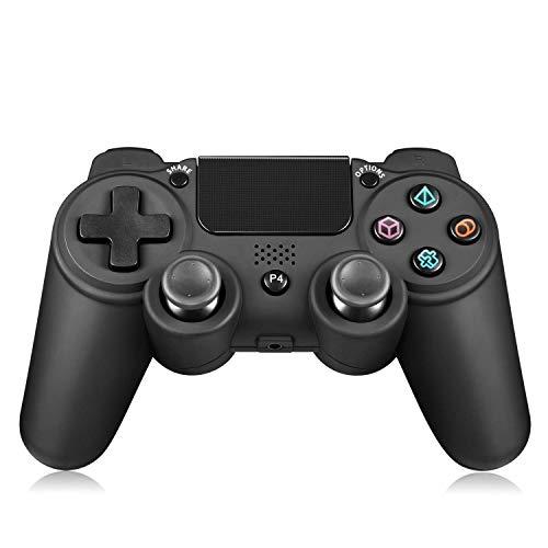 LUIBOR Controller für ps4, DualShock4 Kabelloser und kabelgebundener PS4/PC Gaming-Controller Eingebaut 3D accelerometer and gyroscope sensor functions -