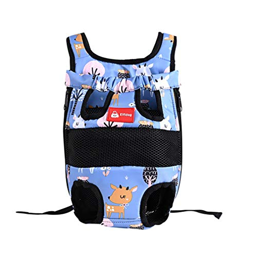 minishetuan Pet Front Dog Carrier Backpack,Wasserdicht Rucksack für Hunde Atmungsaktiv Rucksack für Haustier Outdoor Tragbar Haustier Rucksäcke Dog Carrier -