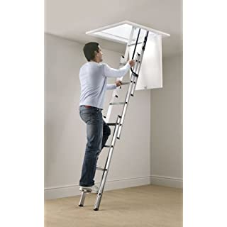 Abru loft ladder 3 section easy stow
