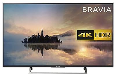 Sony Bravia 4K HDR Smart TV (2017 Model) - Black