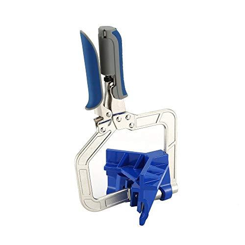 416lRoyBcxL - BlakeSha36 Mitre Jigs Herramienta de Abrazadera de Esquina multifunción para carpintería Juntas en T para Kreg Jigs Blue