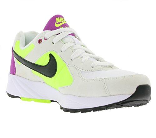 best website a936c 37e92 Nike Herren Air Icarus Nsw Laufschuhe Weiß   Schwarz   Gelb   Violett  (Summit Weiß