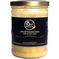 Cou de canard farci au foie gras du Gers - 420g
