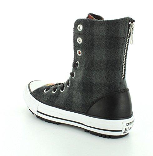 Converse HI CT Hi-Rise Thunder/Blac Woolrich 549686C Sneaker Schuhe Black