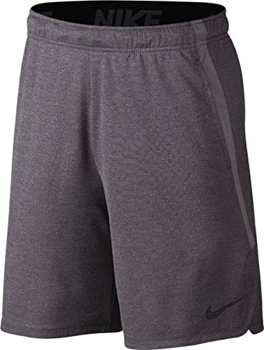 Nike Herren Dri-FIT Shorts, Cargo Khaki/Black, L (Tennis Dri-fit Short)