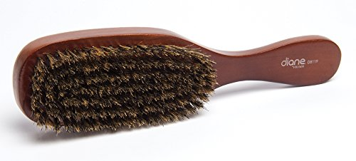 Diane Men's Wave Brush, 100% Boar Bristle, 6 Count