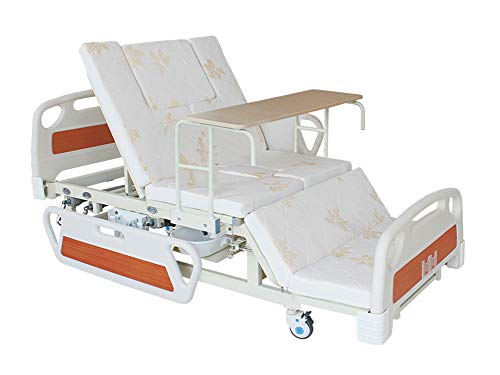 3 Funktion Hydraulisches Krankenhausbett Für Die Häusliche Pflege, Manuelles Krankenhaus Medizinisches Pflegebett Für Patienten