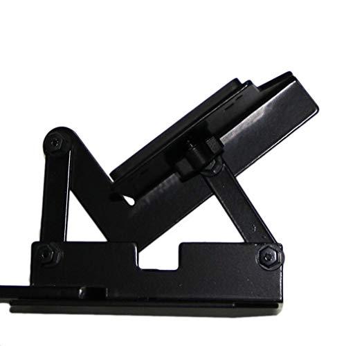 Flash Bracket Grip (DERNON 900 Flash Bracket Quickflip Camera Flash Bracket Grip Camera Flash Arm Holder Black)