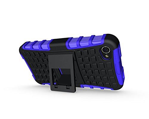 iPhone 4/4G/4S Premium PU Portefeuille en cuir Housse, newstars Folio Étui à rabat pour Téléphone portable Motif Lovers mobile pour protéger la peau étui en cuir pour iPhone 4/4G/4S Téléphone suppor Tyre Pattern:Purple