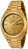 Seiko Men's 5 Automatic SNXS80K Gold Stainless-Steel Automatic Watch with Gold Dial