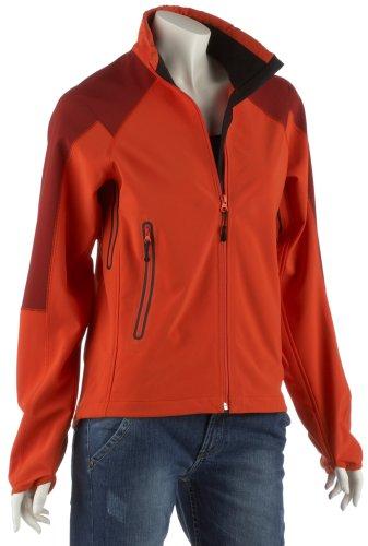 Vaude Veste softshell Women's Quad - orange/dunkelrot