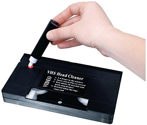 Profi VHS Reinigungscassette für Aufnahme und Wiedergabeköpfe Reinigung Kassette Set Video Tape Recorder