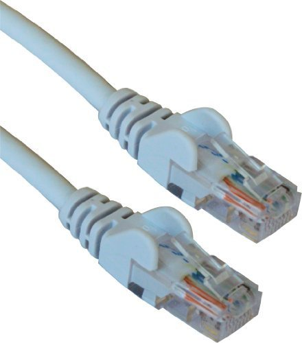 Port-cat5-patch-panel (15M Meter UTP-Netzwerkkabel / CAT6 - Kompatibel mit CAT5 / CAT5e / CAT7 / RJ45 Stecker- RJ45 Stecker / 15M Meter / Grau)