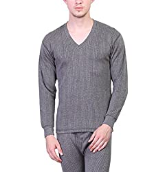 Vimal Winter King Black Fulsleeves V Neck Mens Thermal Top