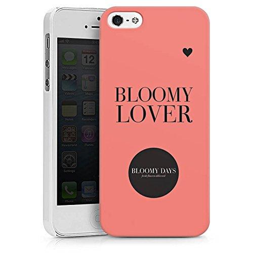 Apple iPhone X Silikon Hülle Case Schutzhülle Blumen Liebe Sprüche Kreis Hard Case weiß