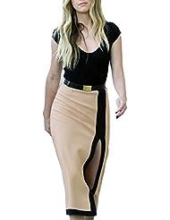 Sexy Kleid, Figur betont Kleid mit Schlitz, Vivian