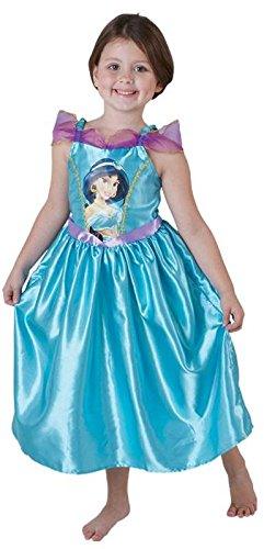 Prinzessin Bilder Kostüm Jasmin (Kostüm Jasmine aus Aladdin Gr. S (3-4)
