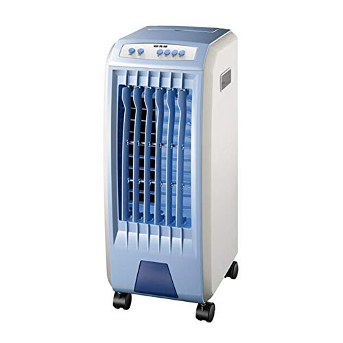 Ventilatoren CJC Mobile Klimageräte Tragbar Verdunstend Luft Luftbefeuchter, Persönlich Innenraum 7L Wassertank, Mechanische Taste (Color : Blue)