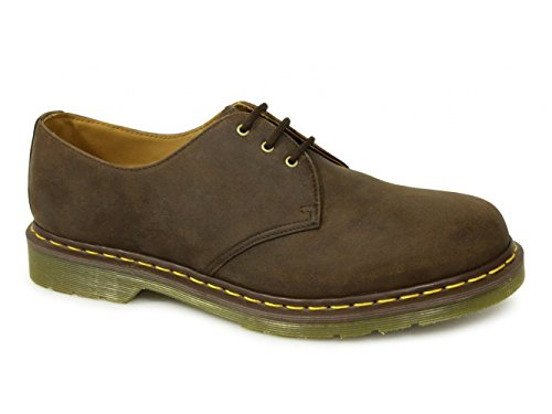Gaucho 1461Z Leather 11838201 3 Oily Brown Crazy Shoe Martens Eye horse Dr 5AnawTw0