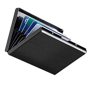 Porta Carte Di Credito Narsam, Rfid Blocco Antifrode Anticlonazione Per Uomo E Donna, Portafoglio Carta Elegante… 8 spesavip