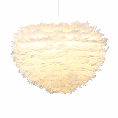 GQLB Das Federbett für Kinder im Bird's Nest Wohnzimmer Kronleuchter Restaurant ist hell, Durchm. ? warmes Licht