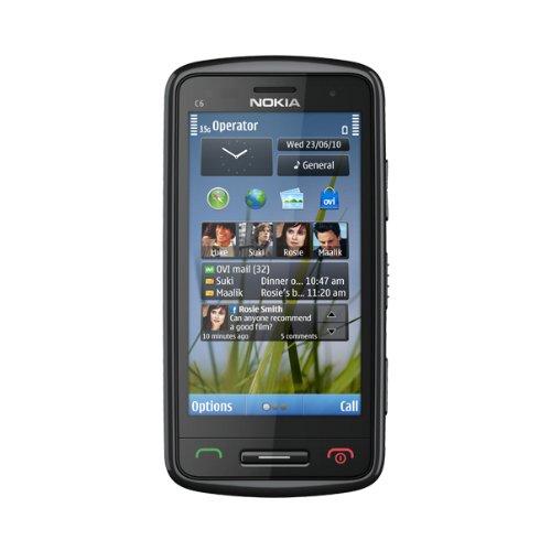 Nokia C6 SIM singola Nero, Grigio, Argento