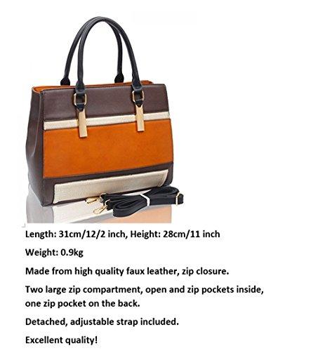 LeahWard® Große Größe Damen Mode Tragetaschen nett Schultertaschen Handtaschen Zum DamenHandtasche A4 CW160112 Burgundy