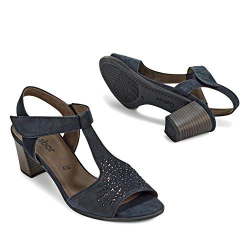 Gabor45.892 - Scarpe con cinturino alla caviglia Donna Blu (Blu notte)