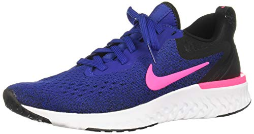Nike Damen Odyssey React Laufschuhe, Mehrfarbig (Deep Royal Blue/Pink Blast/Black/White 403), 37.5 EU