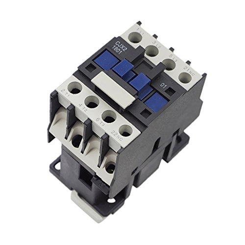 MagiDeal Cjx2-1801 3-polige Schützspule 50 / 60hz ac Klimaanlage Reparaturteil - 380v