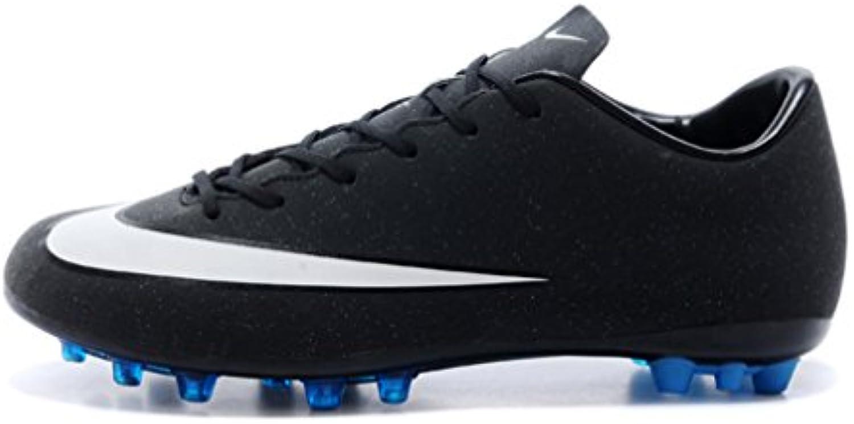 Herren Mercurial Vapor Superfly IIII X AG Kobalt Blau Low Fußball Schuhe Fußball Stiefel